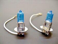 Chrysler 2x Super White Bright Incandescent Fog Light Bulbs 100w Halogen 12V NOS
