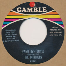 THE INTRUDERS Up And Down The Ladder / We'll Be United 45 Soul