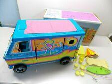 Vintage 1973 Mattel Barbies Beach Bus & Accessories