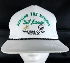 Coop Snapback Hat Farmer Seed Feed Grain Elevator Cap Cotton Wheat Rural OK