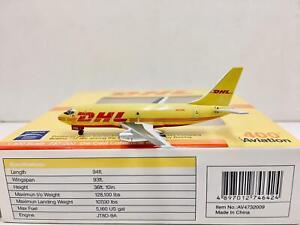 Aviation 400 / Herpa Scale 1:400 DHL Boeing 737-200 9M-PML