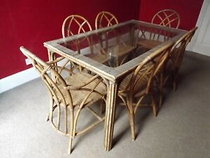 Bamboo Dining Table Table Chair Sets For Sale Ebay