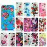 For APPLE iPHONE - BUTTERFLY FLOWER FLORAL SILICON RUBBER GEL SKIN CASE COVER