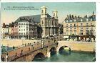 CP 25 DOUBS - Besançon-les-Bains - Pont Battant et Eglise de la Madeleine