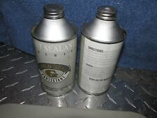 VINTAGE Cone top can EMPTY Paper label Paint sealant Gold seal protectnt renewer