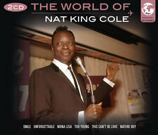 The World Of Nat King Cole Songs 2 CD 1950s Music