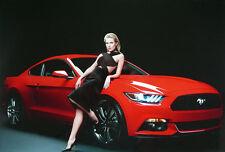 John Rankin Waddell - Sienna Miller mit neuem Ford Mustang 2013.