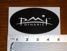 Pmi Black Oval Stickers Decals