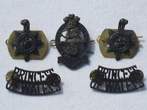 Princess of Wales`s Royal Regiment, 5-teiliges Abzeichen Set,PWRR
