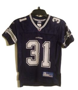 Ray Williams Dallas Cowboys Reebok NFL Jersey #31 - Kids Youth Size Small (8)