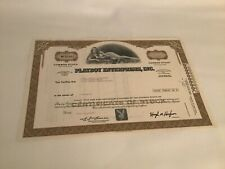 Vintage Playboy Stock Certificate - issued 1977 - Great condition