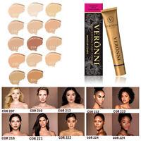 VERONNI Makeup Concealer Liquid Moisturizer Conceal High Definition Foundation H