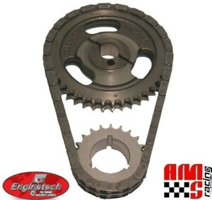 HD Double Roller Timing Chain Set for Ford SBF V8 255 302 351 5.0L 5.8L Windsor