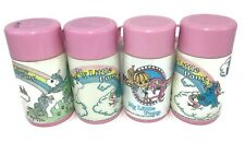 Vintage MY LITTLE PONY 80s Aladdin Lunch Box THERMOS only Lot of 4 BOTTLE G1