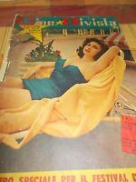 GINA LOLLOBRIGIDA - 1954 - CINE RIVISTA - SPECIALE PER IL FESTIVAL DI VENEZIA