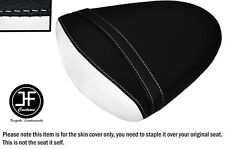 STYLE2 BLACK WHITE VINYL CUSTOM FOR SUZUKI GSXR 1000 K7 K8 07-08 REAR SEAT COVER