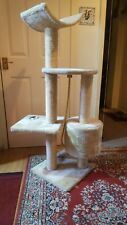 Large 120  Multilevel Cat Tree Scratching Post Kitten Climbing Tower