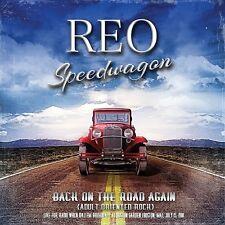 REO SPEEDWAGON - BACK ON THE ROAD AGAIN (LIVE RADIO BROADCAST 1981)  2 CD NEUF