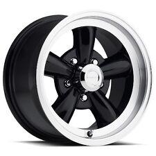 15X8 Vision 141 Legend 5 5x114.3 ET0 Gloss Black Machined Lip Wheel (1)