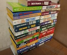 Lot of 10 Dick Francis Mystery Detective Horse Jockeys Paperback RANDOM Book MIX