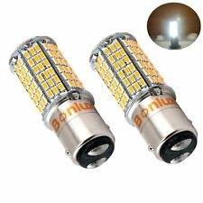Bonlux 2X5W 1157 Ba15d LED Bulb Double Contact Bayonet Parallel Pin Base CW6000K