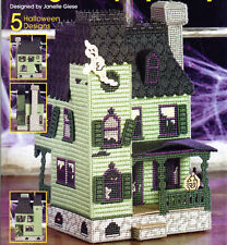 """""""DELIGHTFULLY SPOOKY""""~Plastic Canvas PATTERN BOOK~5 Halloween Design~SEE PIC~NEW"""