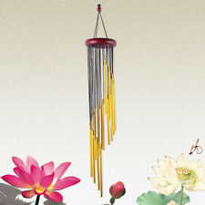 Wooden Metal Tube Fengshui Wind Chimes Bell Home Hanging Balcony Decor Healthy