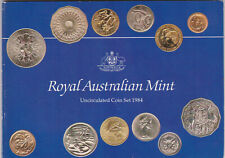Kursmünzsatz Australien 1984 Original Royal Australien Mint, unz., aus Nachlass