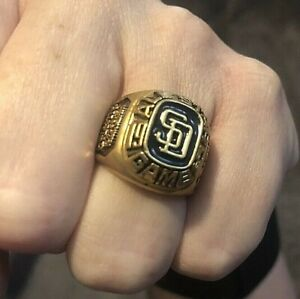 Vintage 1992 MLB San Diego Padres Baseball All Star Game Costume Jewelry Ring
