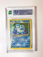 1999 Pokemon Base Set Unlimited Blastoise Holo #2 MNT 5.5 - WOTC PSA Regrade