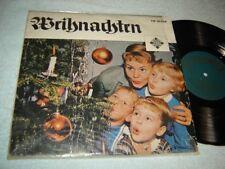 Weihnachten 10 inch LP Telefunken TW 30034 vintage Germany Christmas record