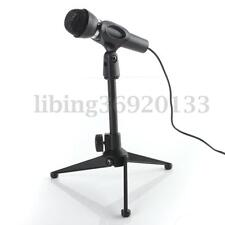 Adjustable Stable Desk Table top Mic Microphone Tripod Clamp Clip Stand Holder