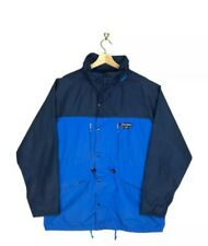 Rara Vintage Berghaus Gore-Tex Impermeable Abrigo Chaqueta Azul XL Extra Grande!