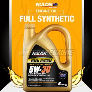 Nulon Full SYN 5W-30 Low Emission Diesel Engine Oil 5L for MAZDA 3 6 CX-3 CX-5 7