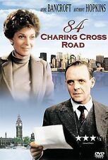 84 CHARING CROSS ROAD (DVD, 2002) - NEW SEALED DVD
