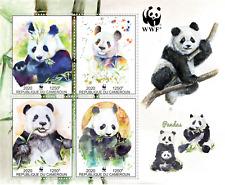 Stamps  Fauna WWF Pandas