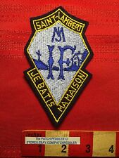 CANADA PATCH Maybe A Quebec School ~ SAINT-LAMBERT JE BATIS MA MAISON CREST 5NB6