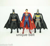 "Lot 3 pcs New Batman v Superman: Dawn of Justice Action Figures Toy 15cm 6"" Gift"