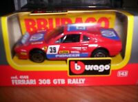 FERRARI  303  GTB  RALLY - 1982 - BURAGO - SCALA 1/43