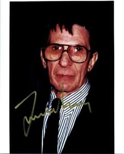 Leonard Nimoy 8x10 signed Photo Picture autographed with COA