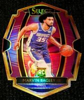 MARVIN BAGLEY III 18-19 SELECT PREMIER LEVEL PURPLE PRIZM KINGS ROOKIE RC 86/99