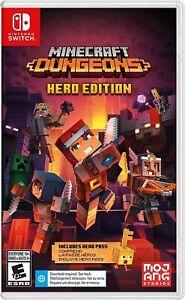 Minecraft Dungeons Hero Edition Nintendo Switch Brand New Sealed