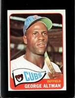 1965 TOPPS #528 GEORGE ALTMAN EXMT CUBS  *XR21103