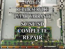 Mail-in Repair Service For Panasonic TC-P50S30 SC/SD/SU Boards 1 YEAR WARRANTY