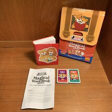 Between The Lions 2001 RARE Magical Word Book Game Cards Fisher Price Mattel