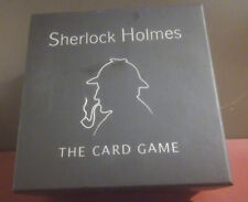 NEW Sherlock Holmes The Card Game 2014 Edition Gibsons Games 100% Complete Boxed