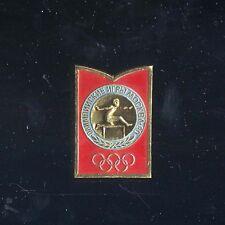 spilla pin MOCKBA 1980 Moscow Olimpic Games Mosca Ostacoli Hurdling барьерный бе
