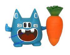 Figurine TIWABBIT bleu et sa carotte familier DOFUS pets Wakfu figure wabbit new