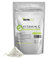 NEW 100% PURE L-ASCORBIC ACID VITAMIN C POWDER NonGMO USA ORGANIC SOURCED VEGAN