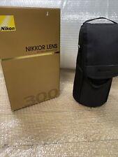 NIKON AF-S 300mm F/4 D If Ed Comme Neuf Garantie